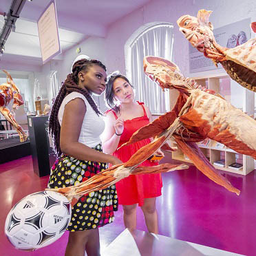 DMU Global students see the macabre and the magical at German Plastinarium